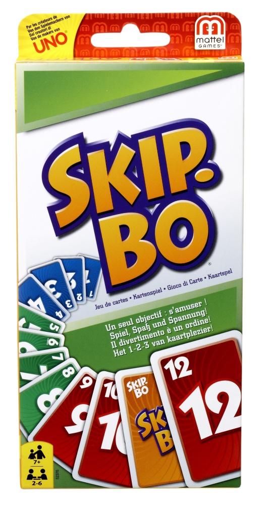 Boite de Skip-bo cartes