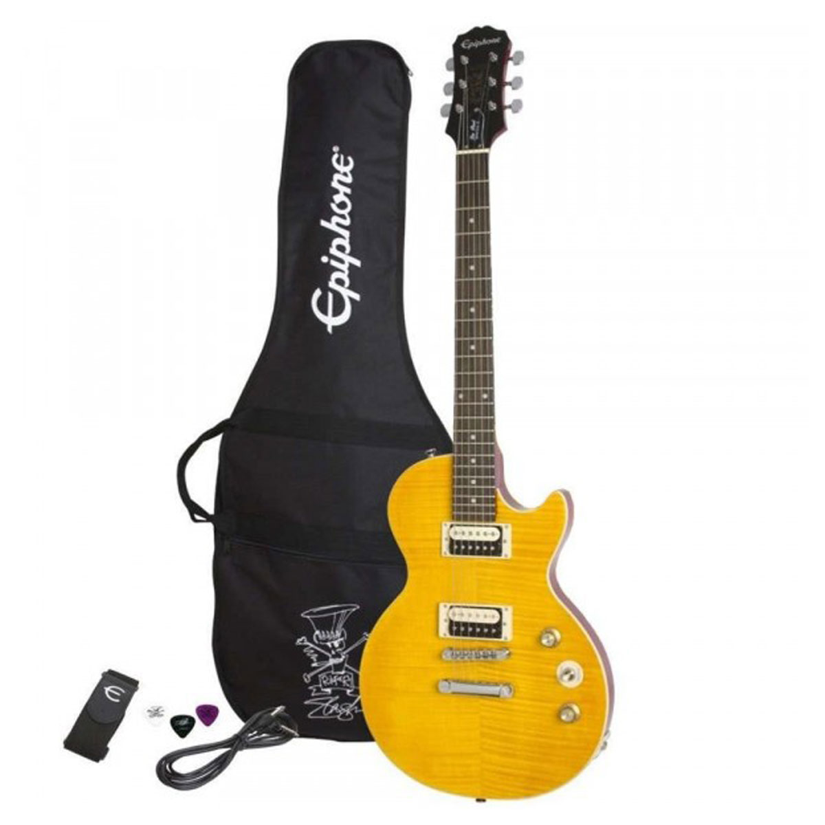 Epiphone - Pack guitare Les Paul Slash AFD LP Special II