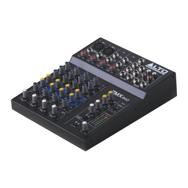 Alto - Mixeurs de Studio Compact 6 voies, 8 entrées
