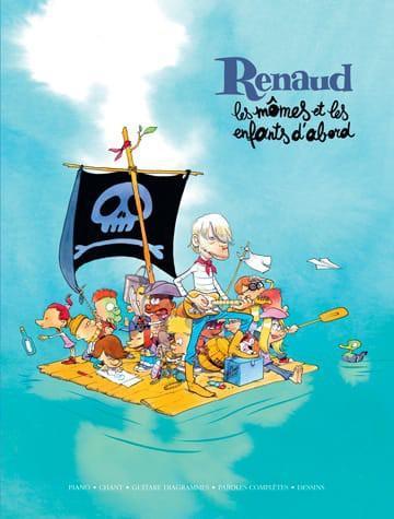 Partition piano, chant et guitare - Les mômes et les enfants d'abord Renaud