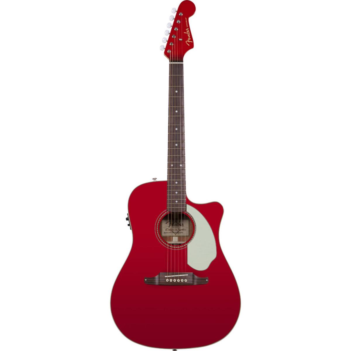 Fender - Sonoran SCE Candy Apple RedV2 California