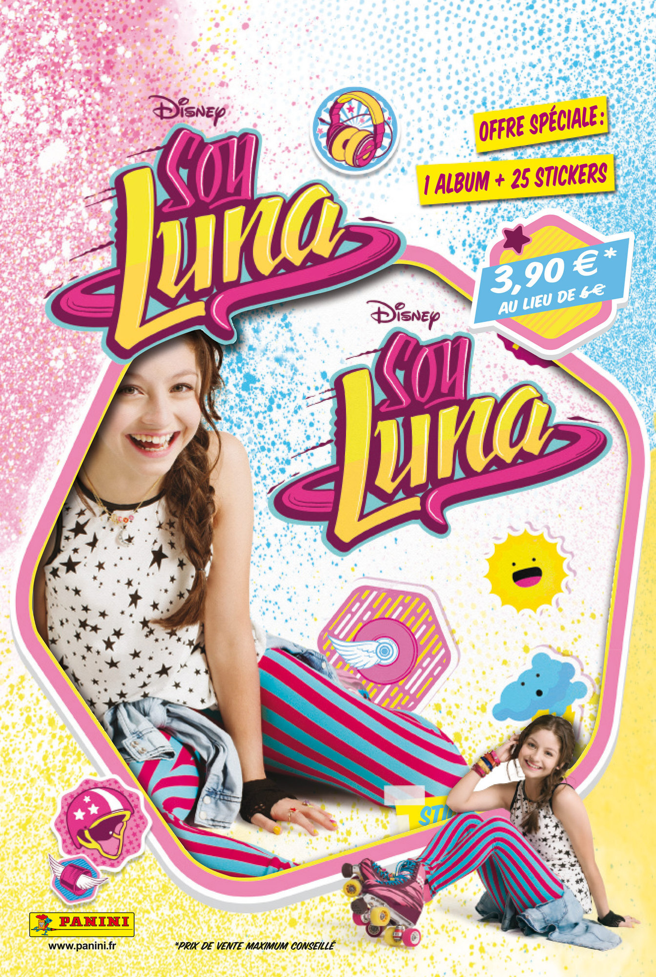 Album + 25 stickers Panini - Soy Luna