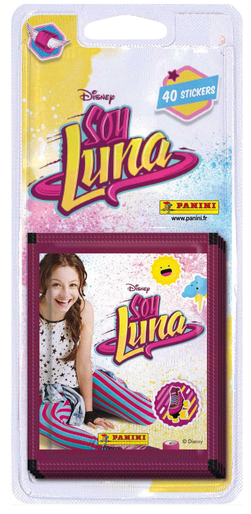 40 stickers Panini - Soy Luna - 8 pochettes