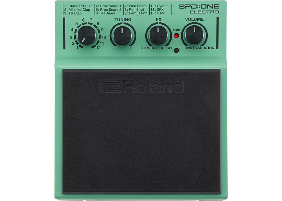 Roland SPD ONE ELECTRO pad de percussion pour batterie électronique