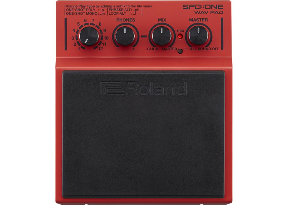 Roland SPD ONE WAV PAD 1 pad de percussion pour batterie électronique