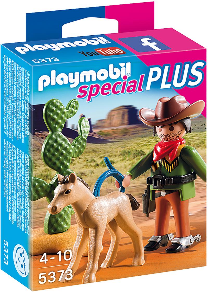 Cow-boy avec poulain - Playmobil - 5373