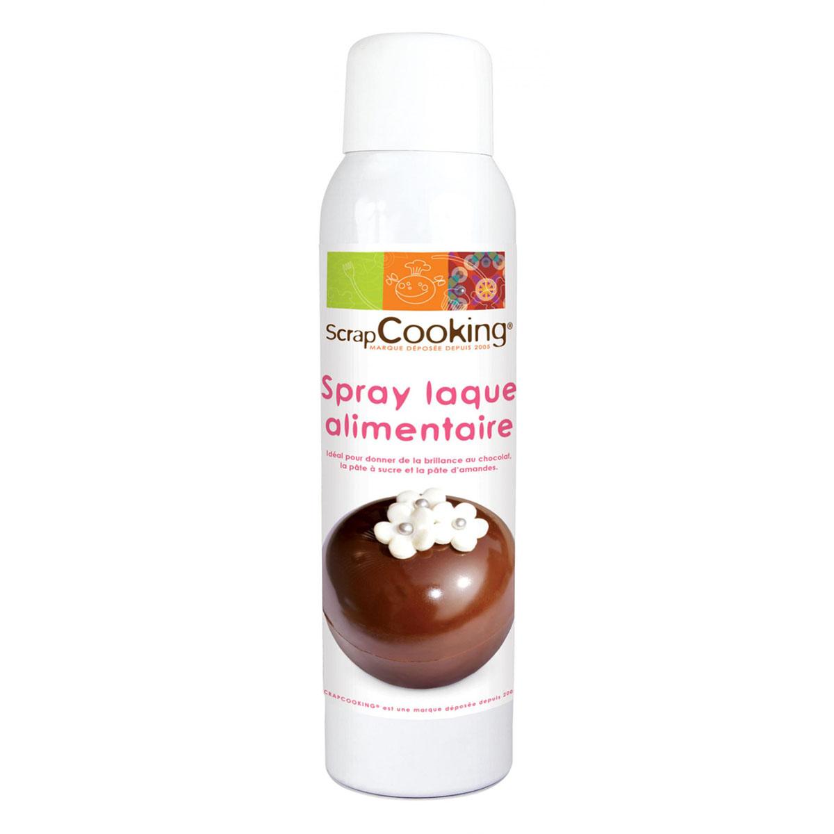 Image du produit Spray vernis alimentaire  - Scrapcooking