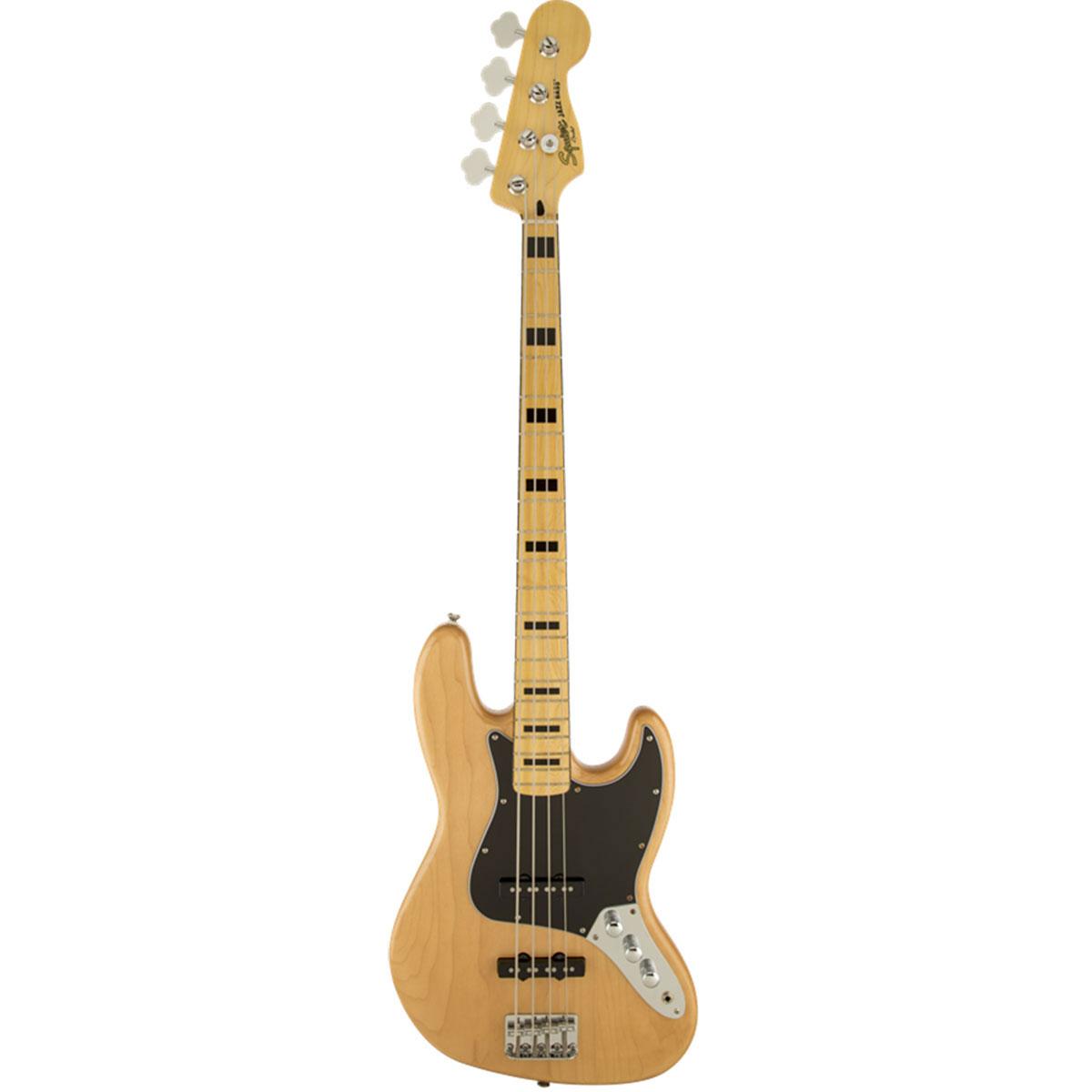 Squier - Vintage Modified jazz bass \'70s Naturelle