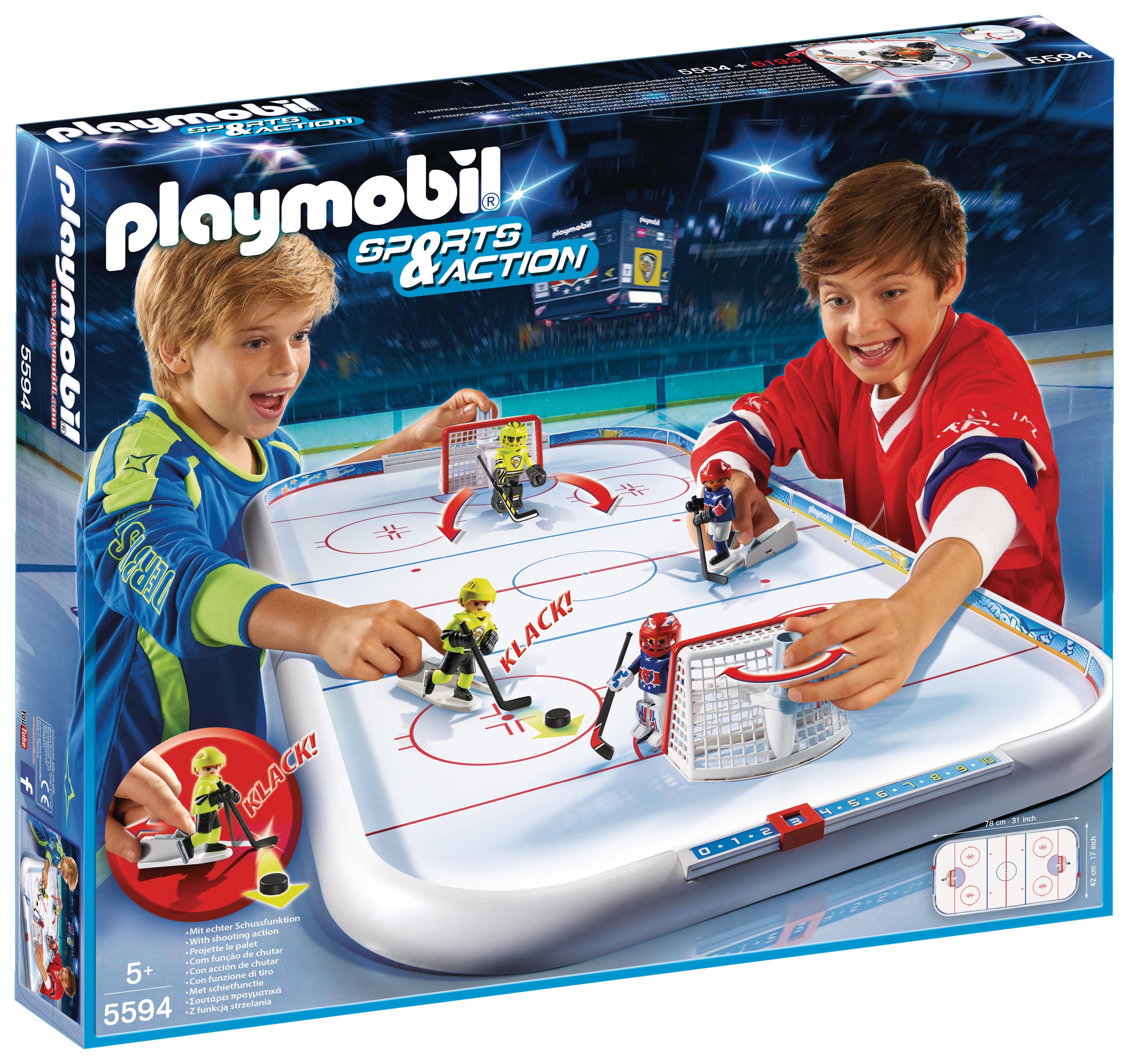 Stade de hockey sur glace - Playmobil - 5594