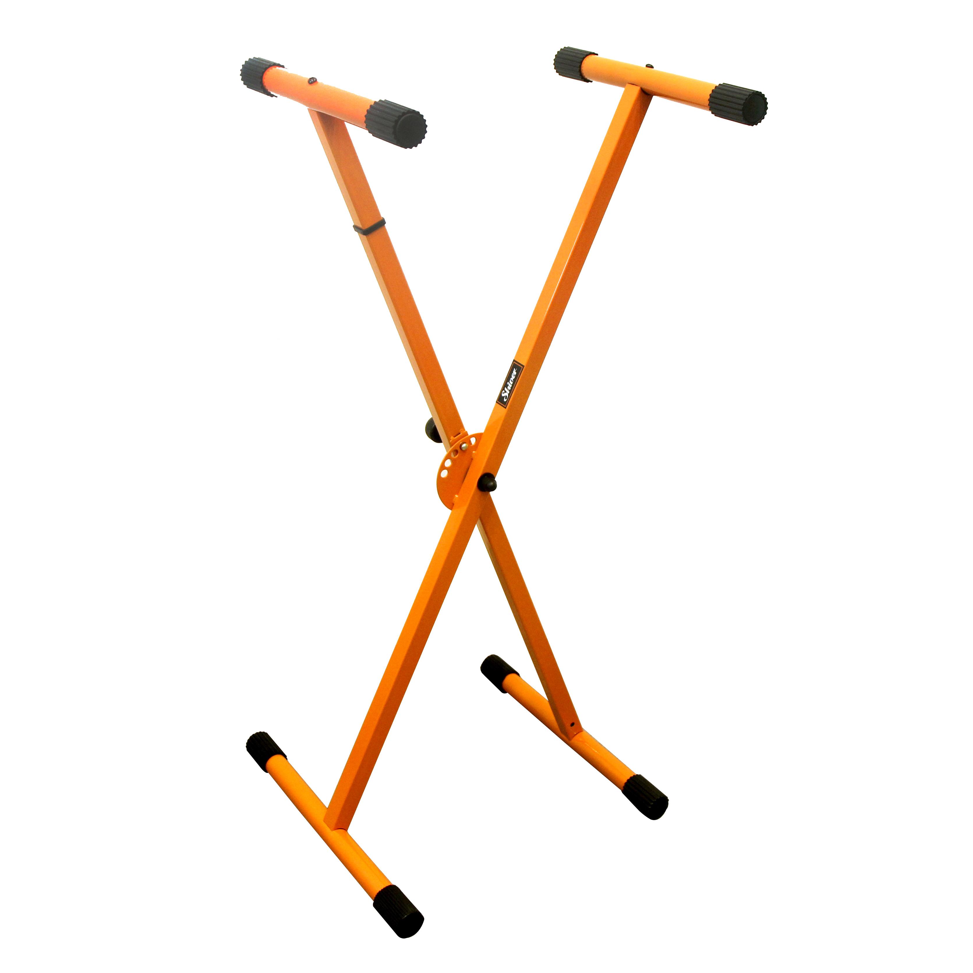 Shiver - Stand clavier basic en X - Orange