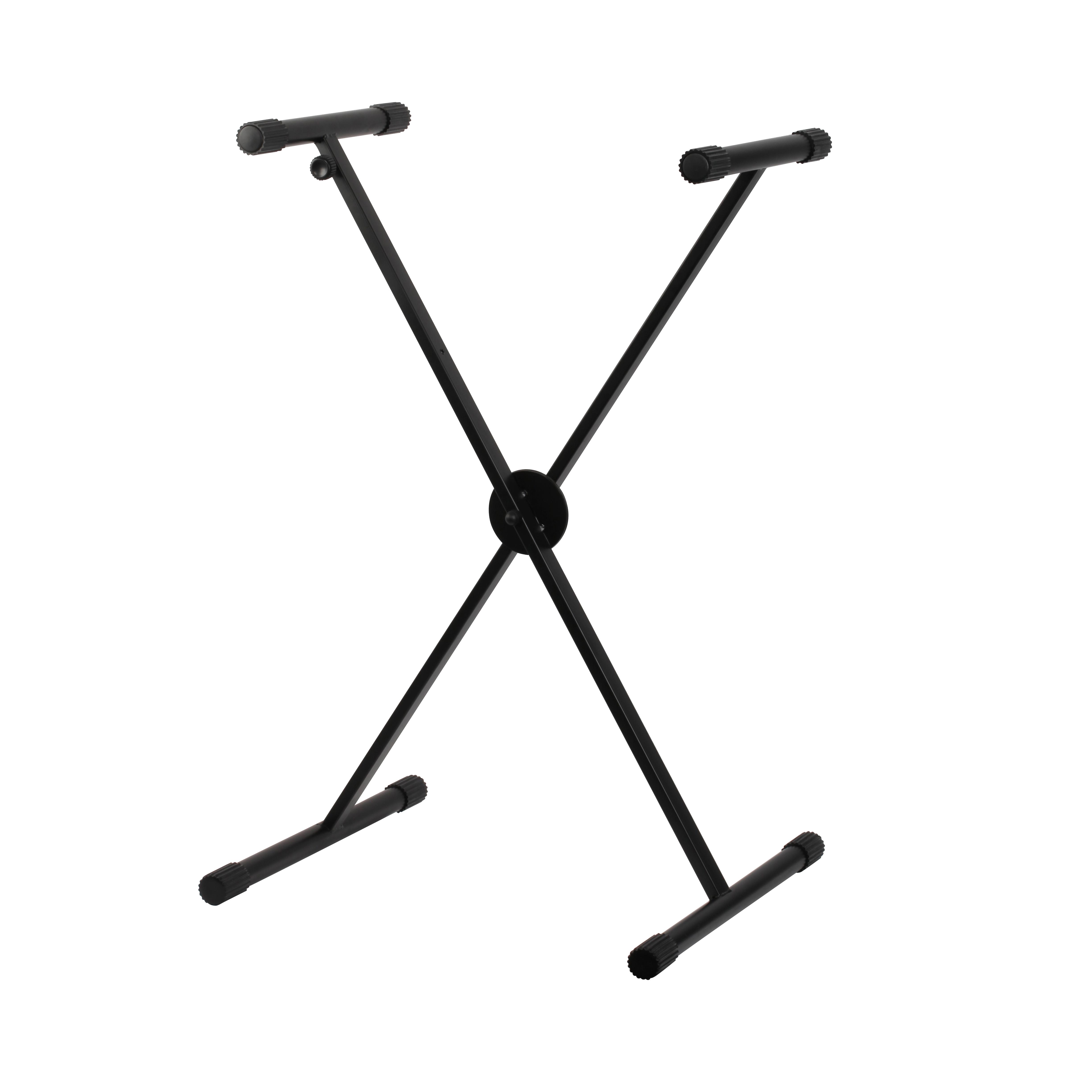 Shiver - Stand clavier en X à réglage facile