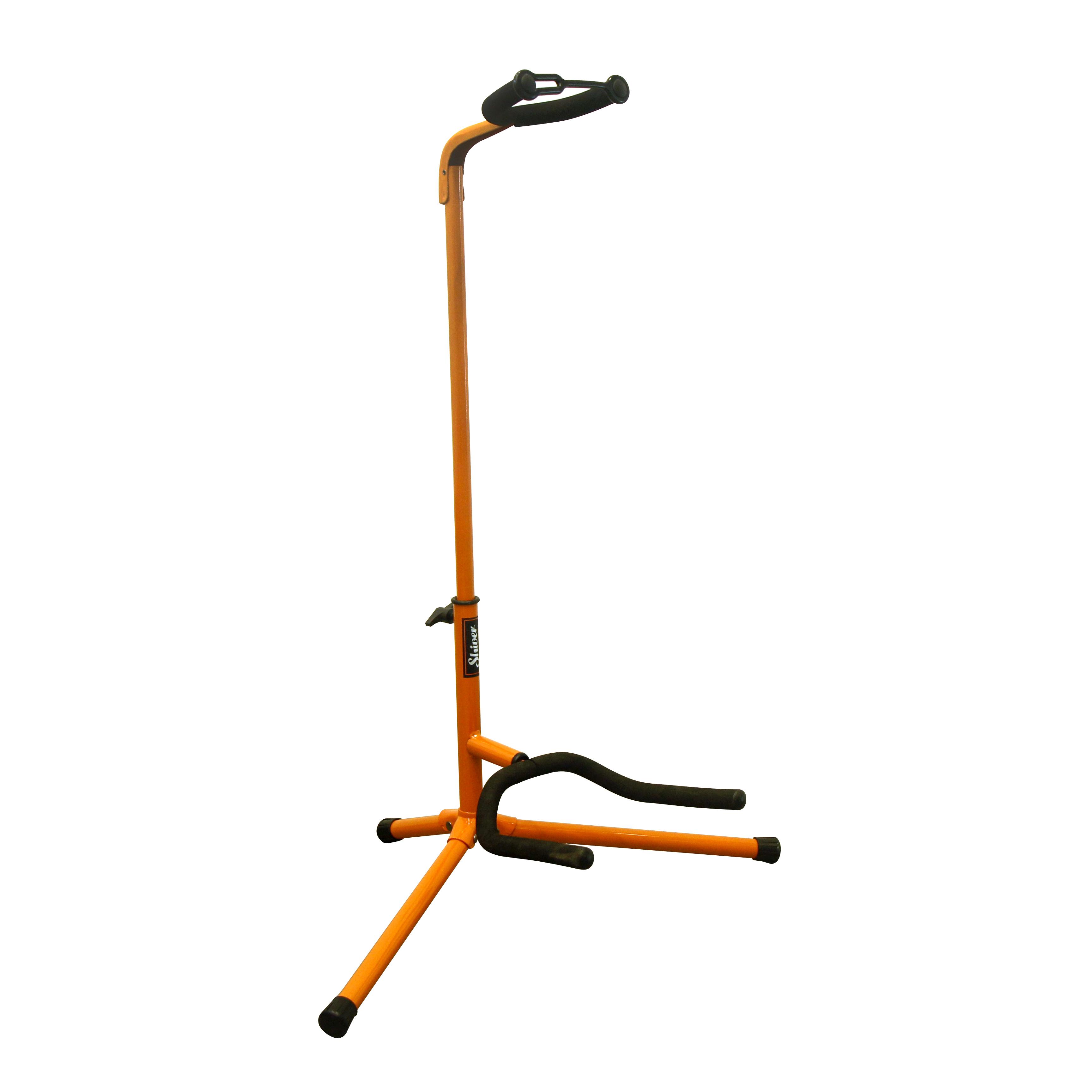 Shiver - Stand guitare col de cygne basic - Orange