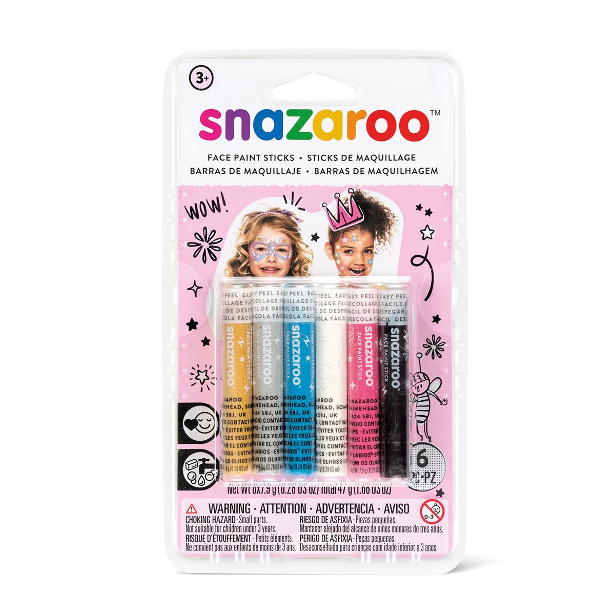 Sticks maquillage pour visages filles