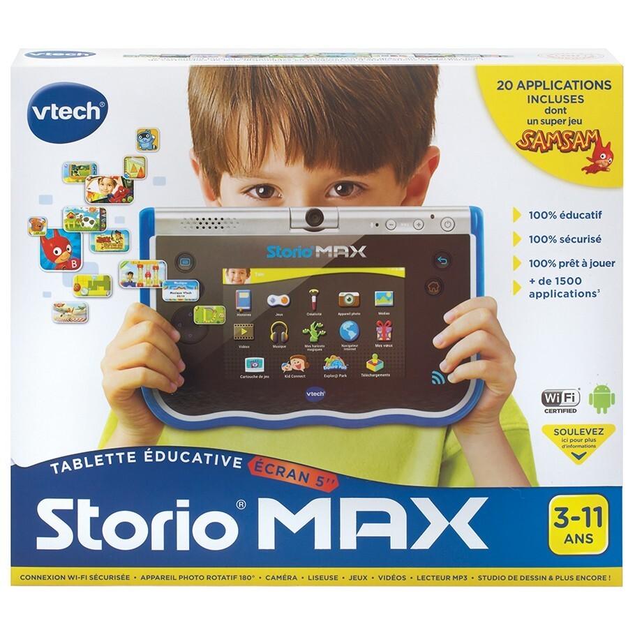 Tablette Storio Max - 5 pouces - Bleue