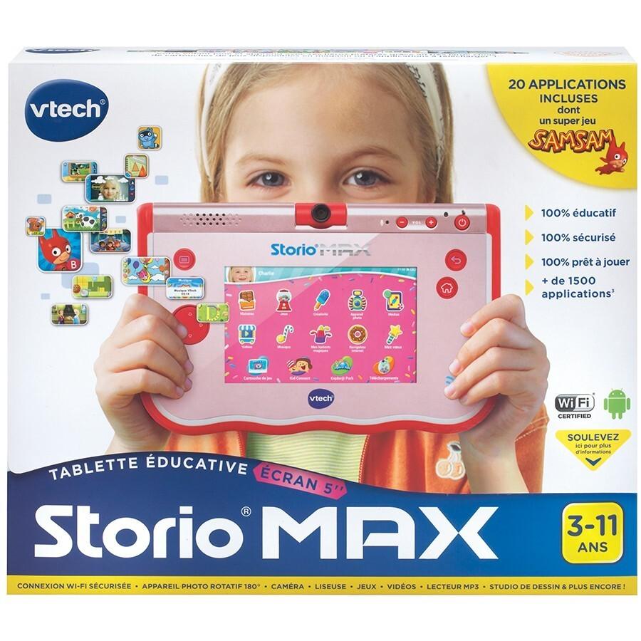 Tablette Storio Max - 5 pouces - Rose