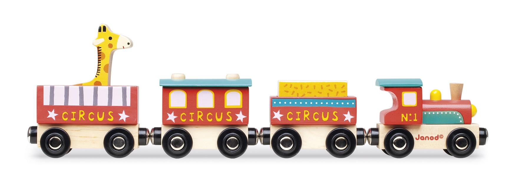 Image du produit Story - Train Circus Bois