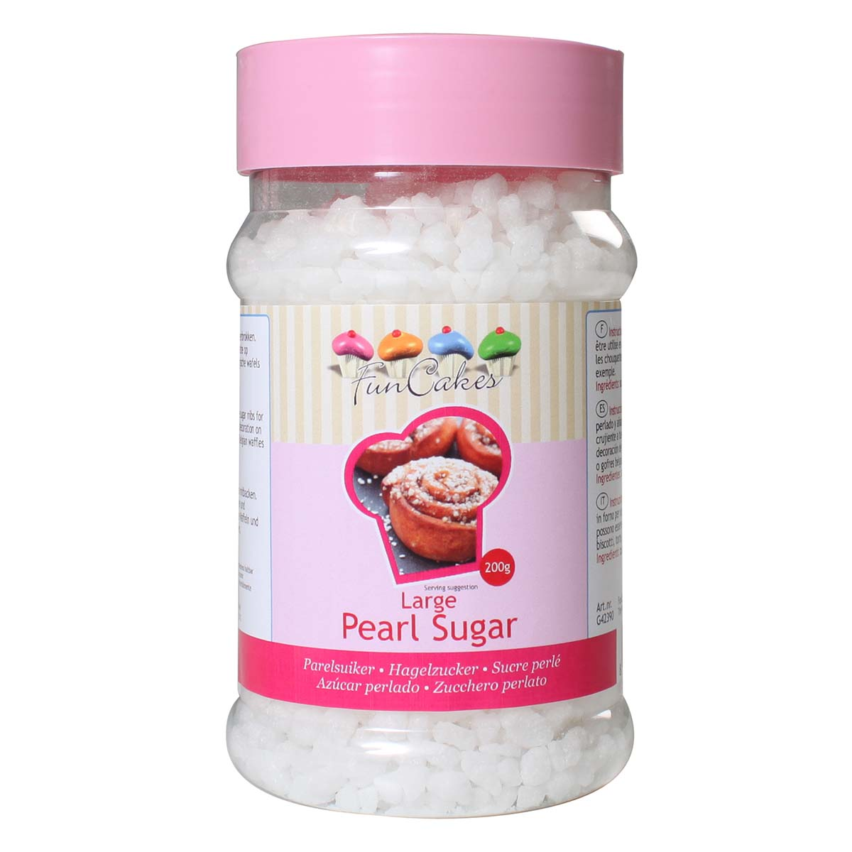 Image du produit Perles de sucre - large - 200g - FunCakes