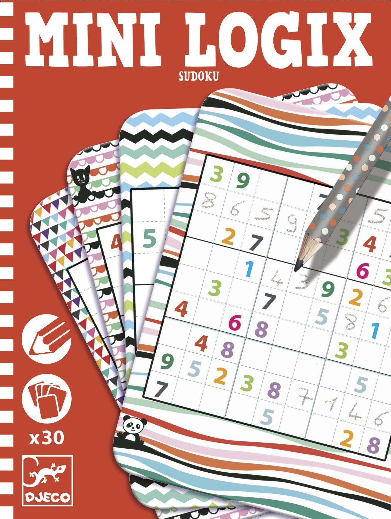 Sudoku - Mini jeu Djeco