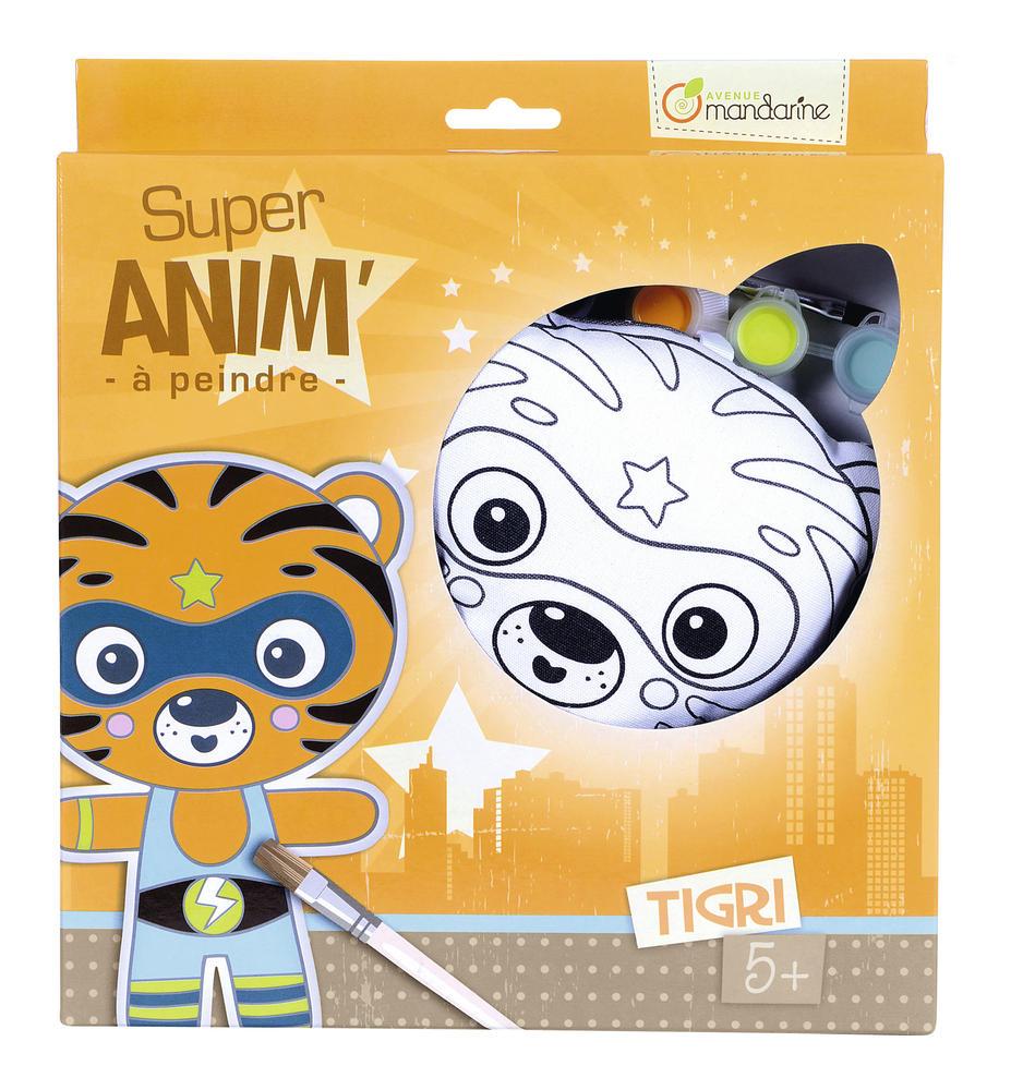 Super Anim Tigri - Personnage à peindre