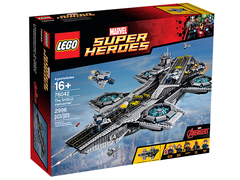 Super Helitransport du Shield - LEGO®