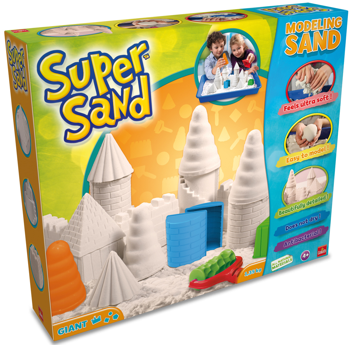 Super Sand - Giant Play Set - Goliath