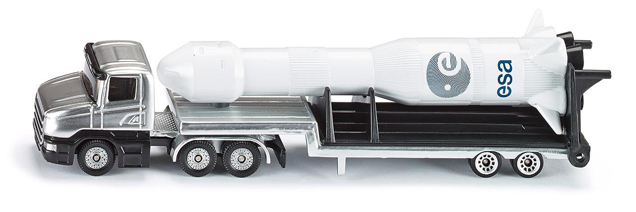 Camion surbaissé avec fusée - Siku - Modèle 1614