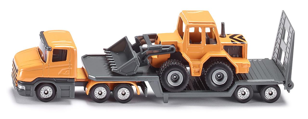 Camion surbaisséavec chargeuse frontale - Siku - Modèle 1616
