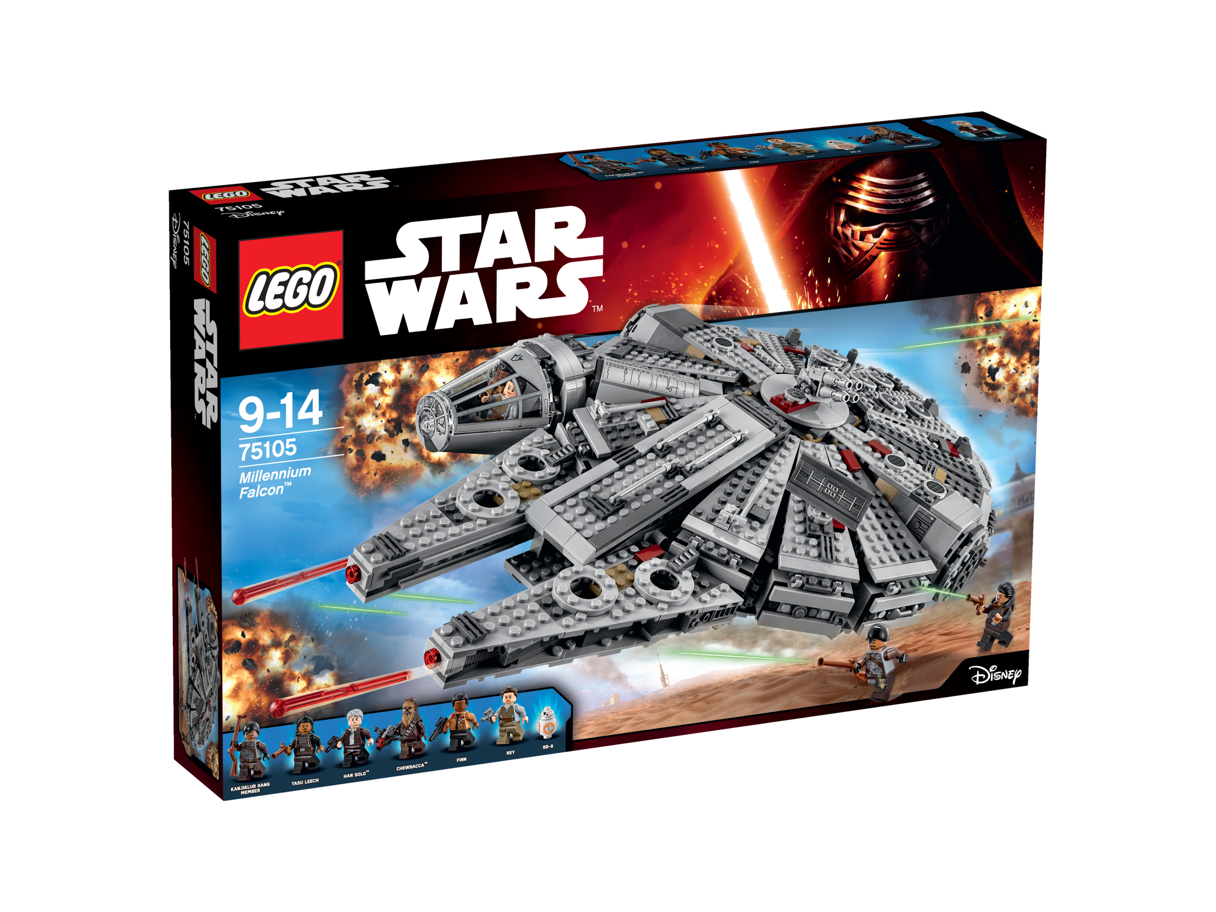 Faucon Millennium Réveil de la Force - LEGO Star Wars - 75105