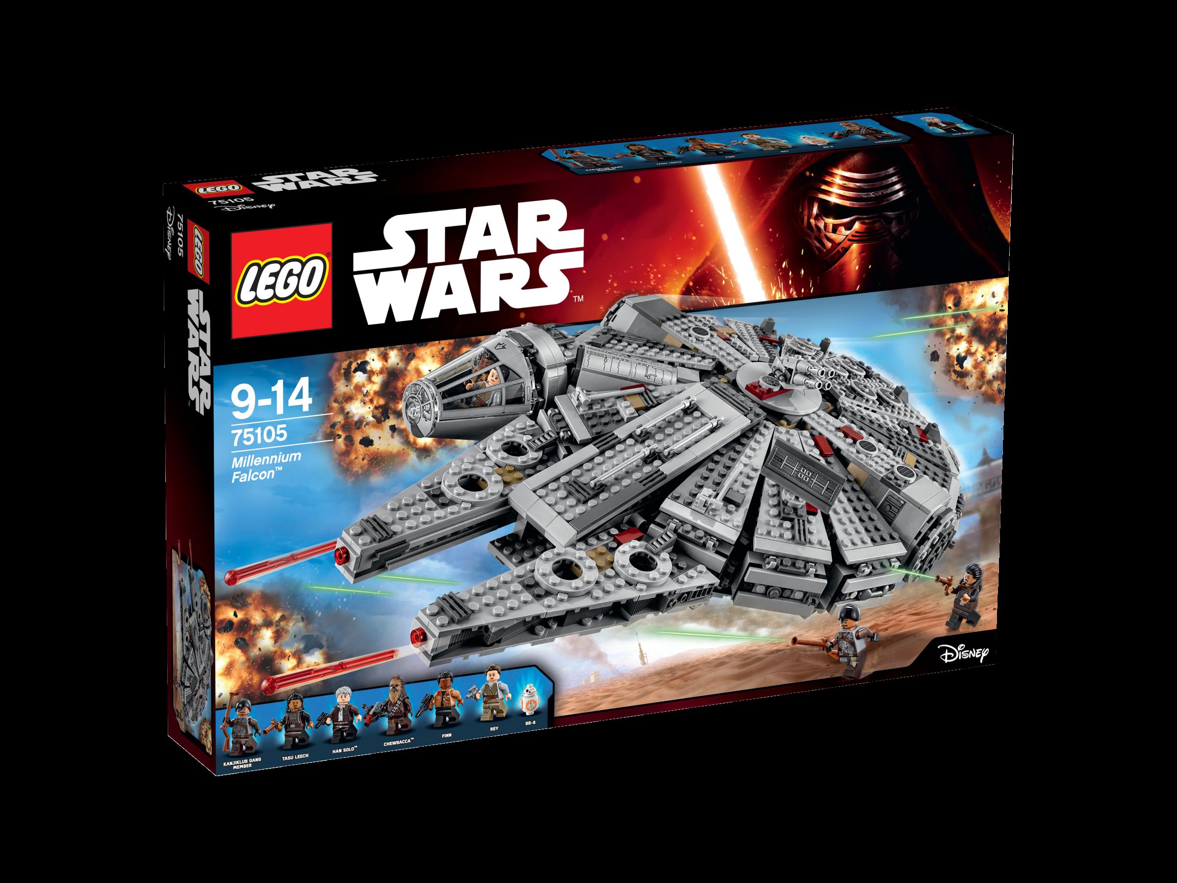 Faucon Millennium Réveil de la Force - LEGO Star Wars - 75105