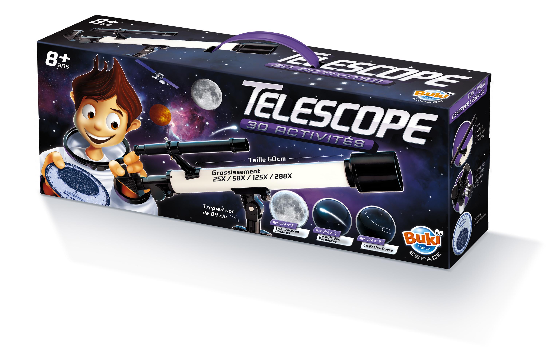 Téléscope - 30 activités - Buki