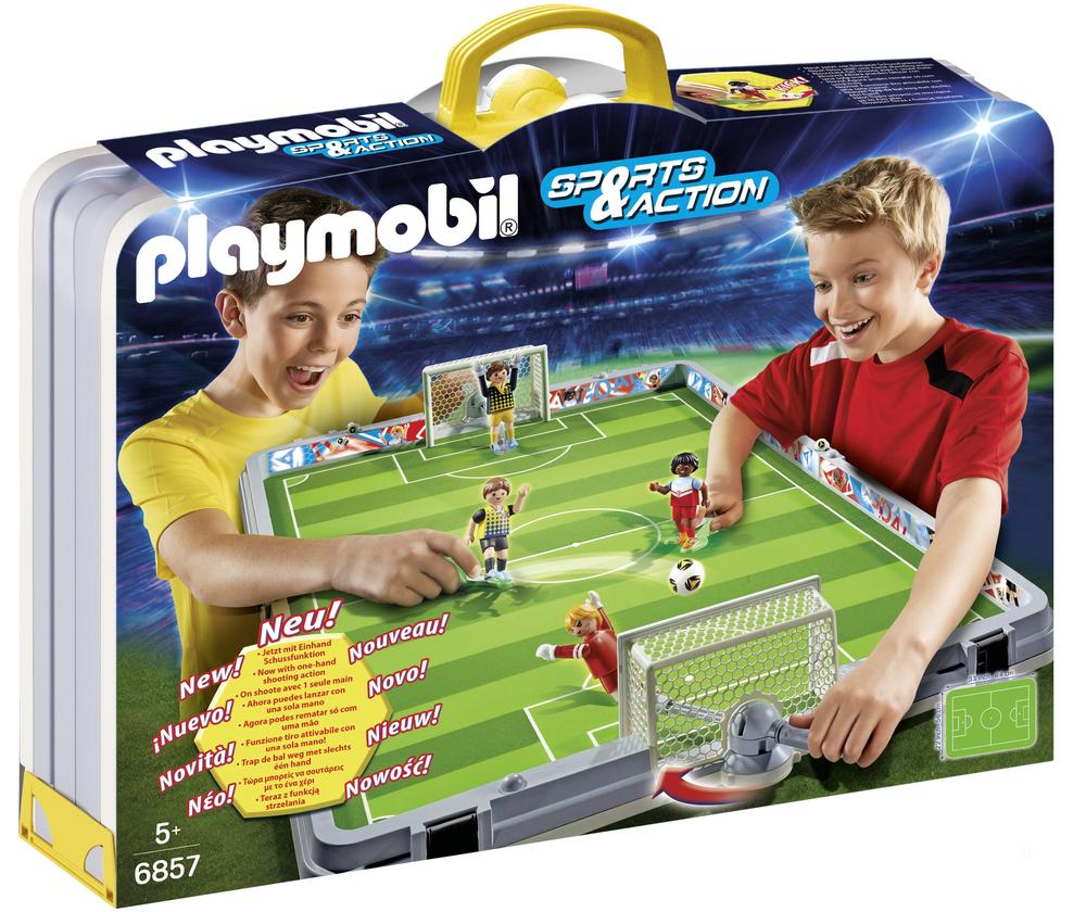Terrain de Football transportable - Playmobil