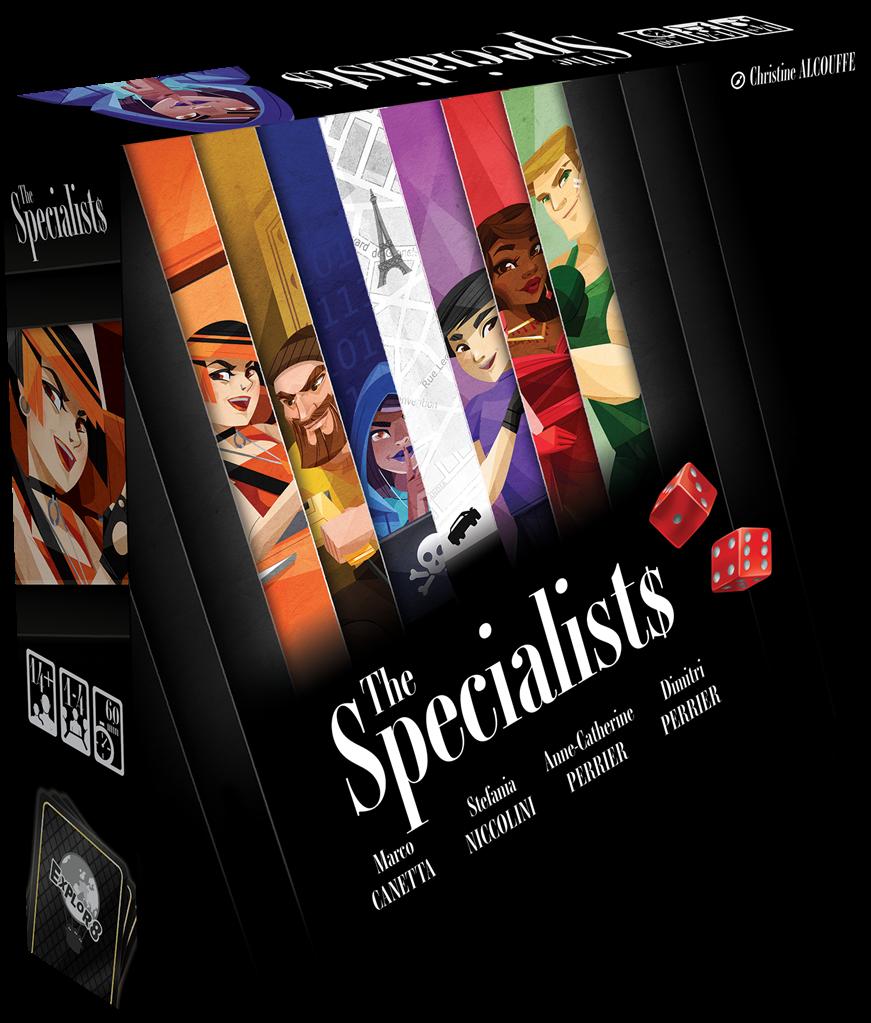 Boite de The Specialists