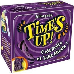 Time's up purple