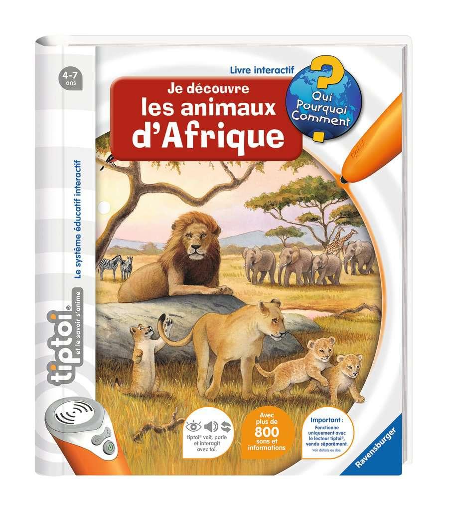 Je découvre les animaux d'Afrique - Tiptoi - Ravensburger