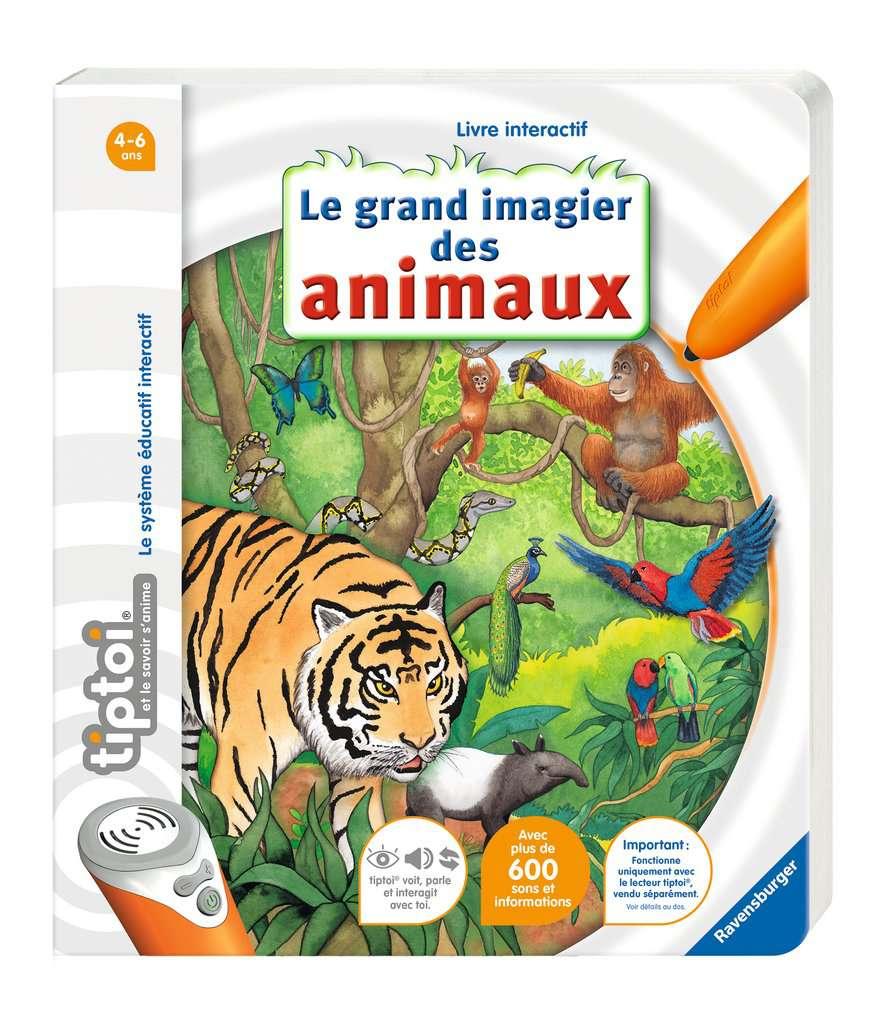 Livre Tiptoi - Imagier des animaux