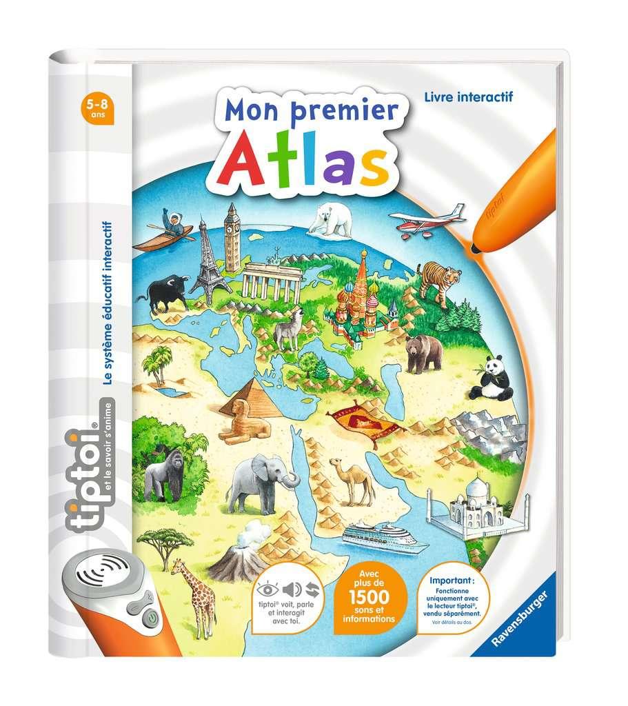 Mon premier Atlas - Tiptoi - Ravensburger