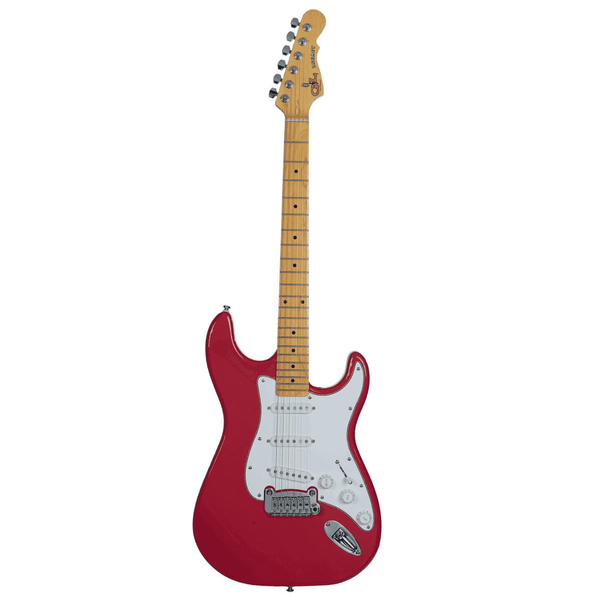 GandL - Tribute Legacy Rouge - Guitare électrique