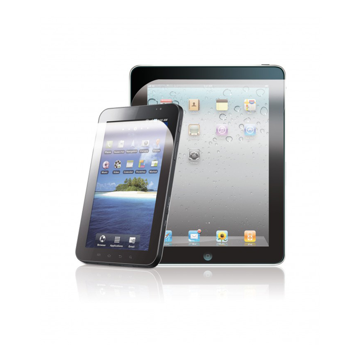 2 protections - tablette et PC