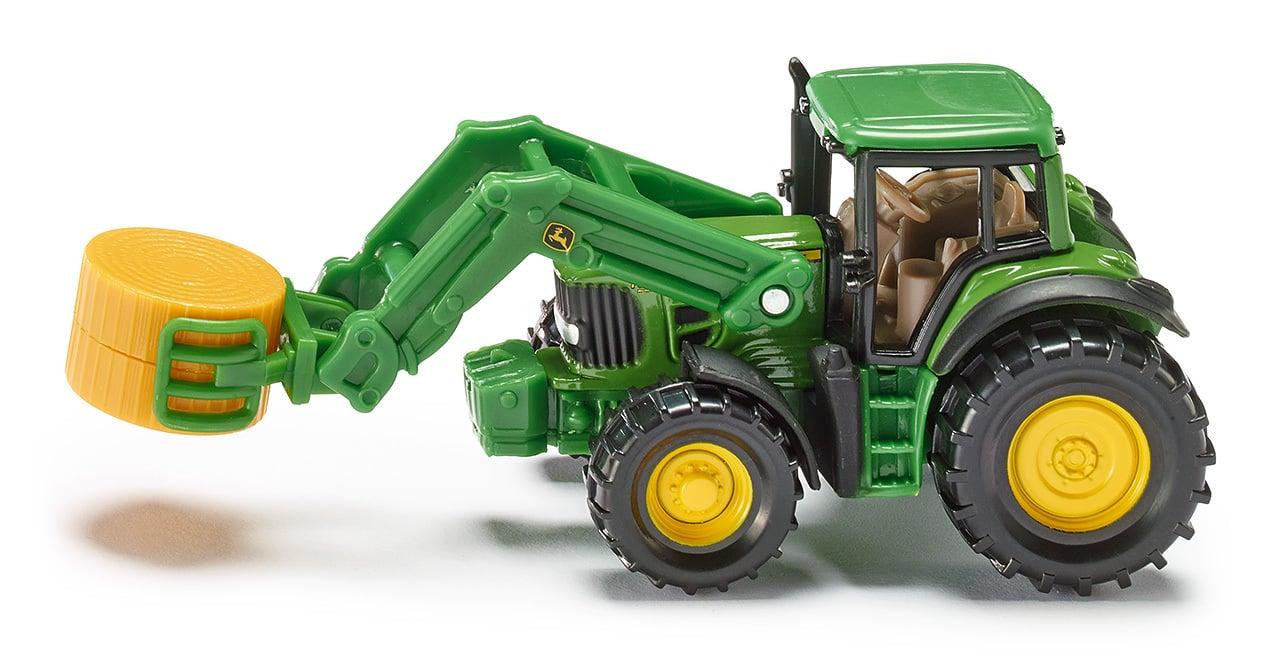 Tracteur avec pince à balles