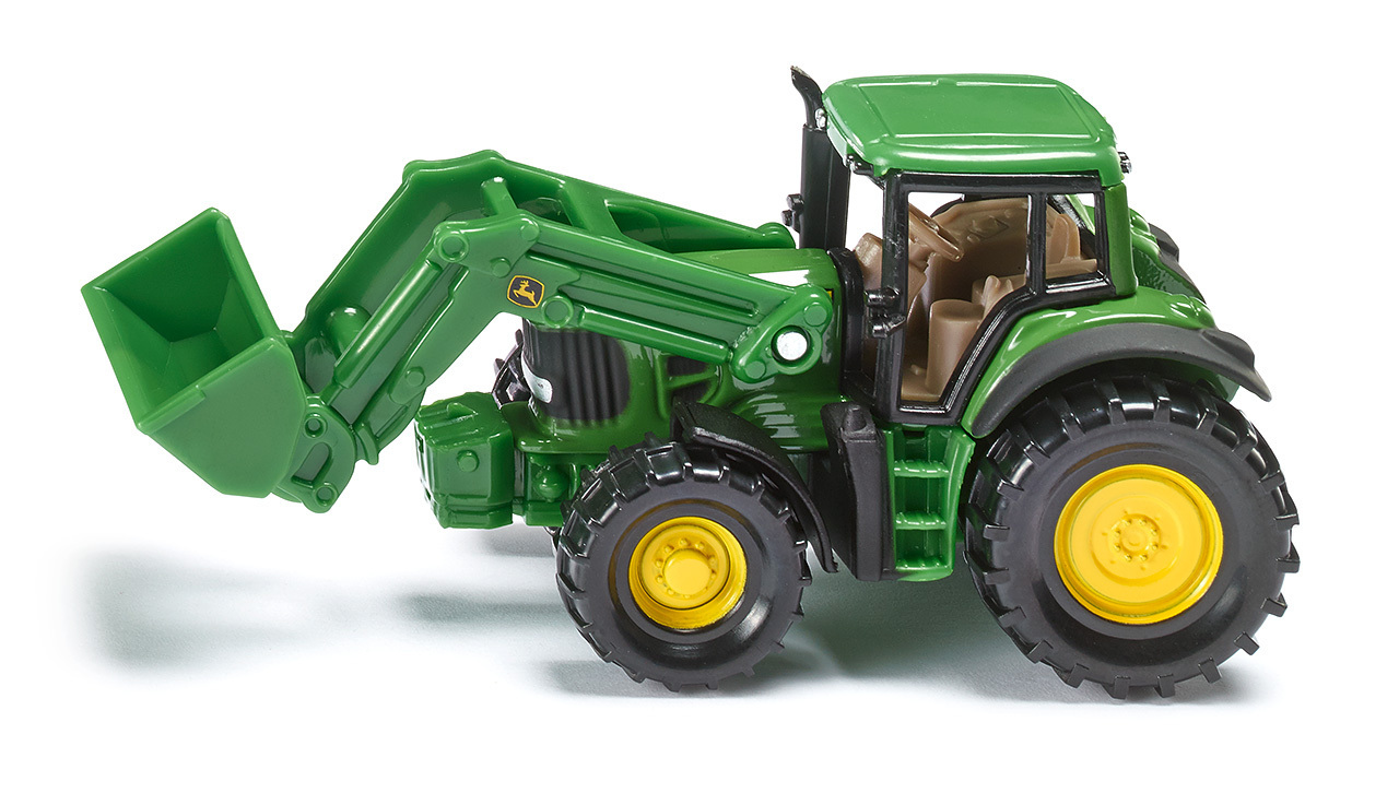 Tracteur John Deere avec chargeur frontal - Siku - Modèle 1341