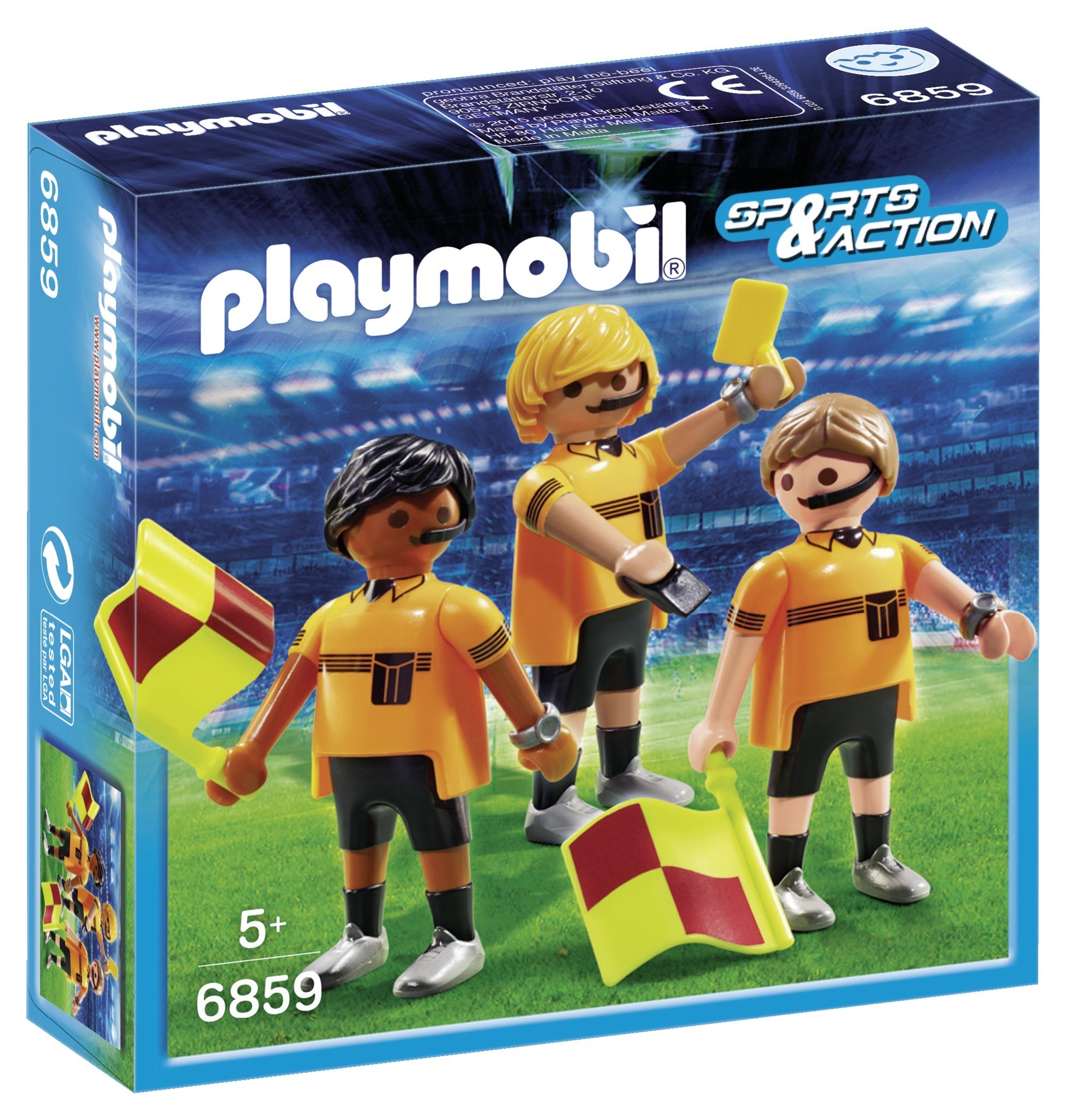 Trio arbitral - Playmobil