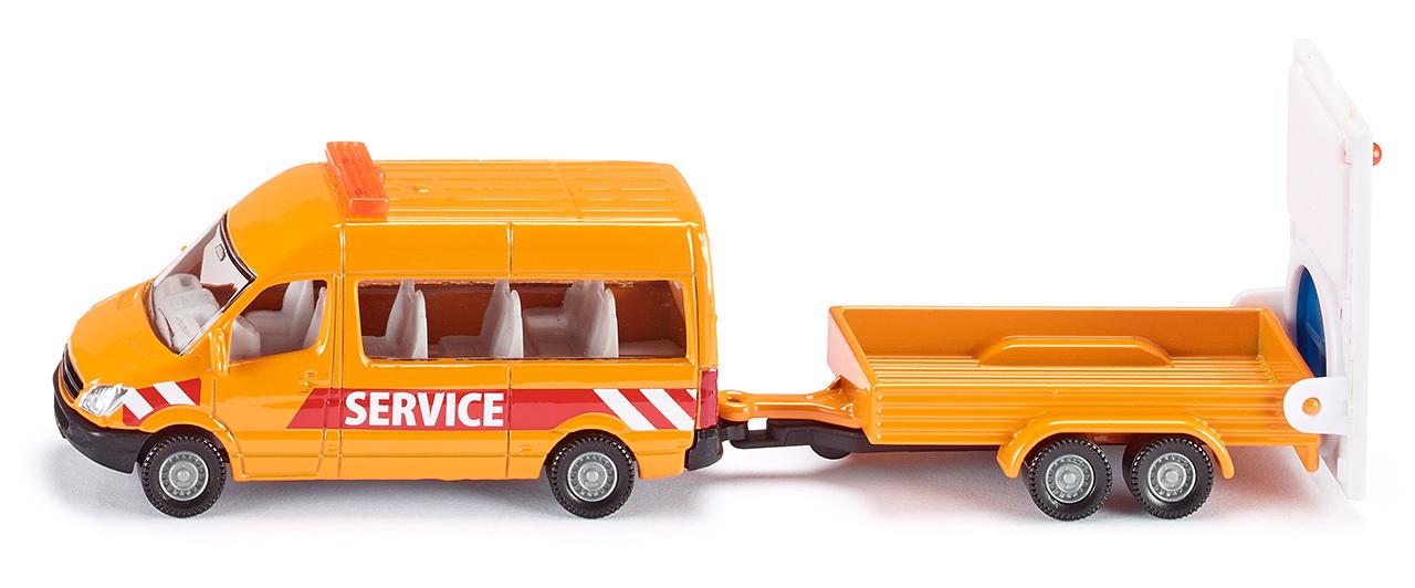 Véhicule de sécurité routière - Siku - Modèle 1660