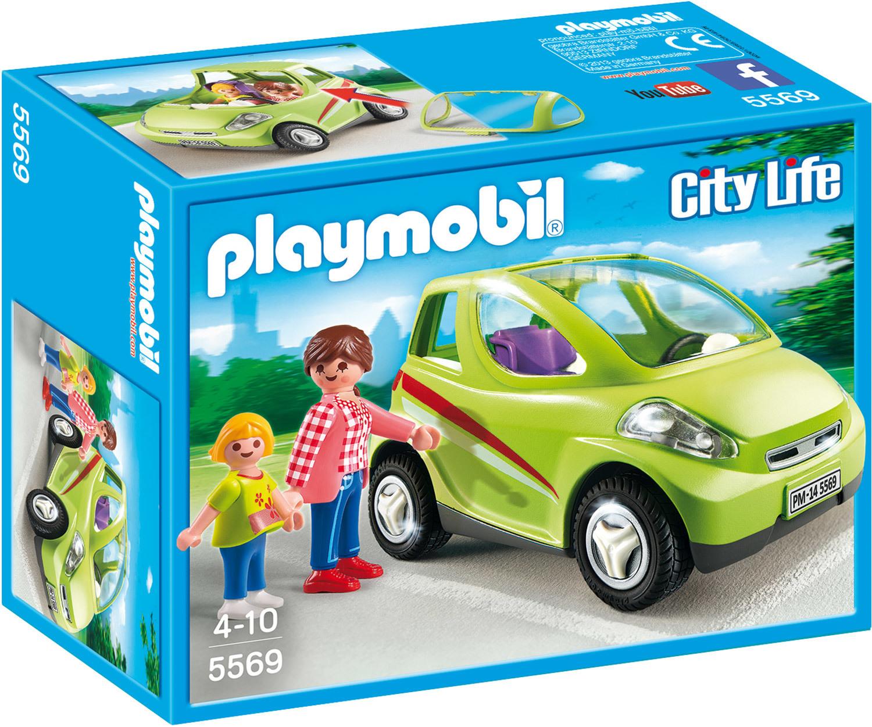 Voiture de ville avec maman et enfant - Playmobil City Life - 5569