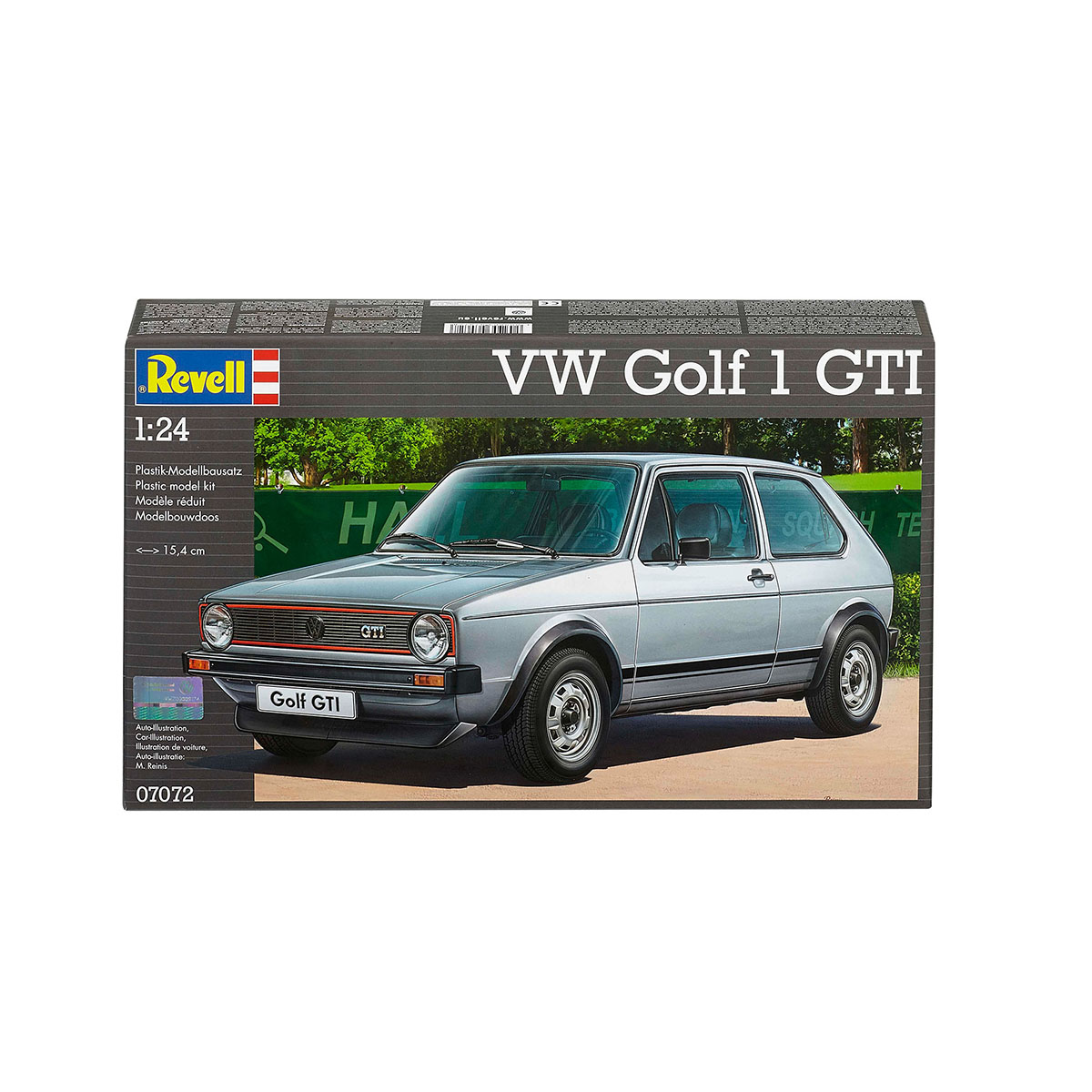 Maquette voiture - VW Golf 1 GTI