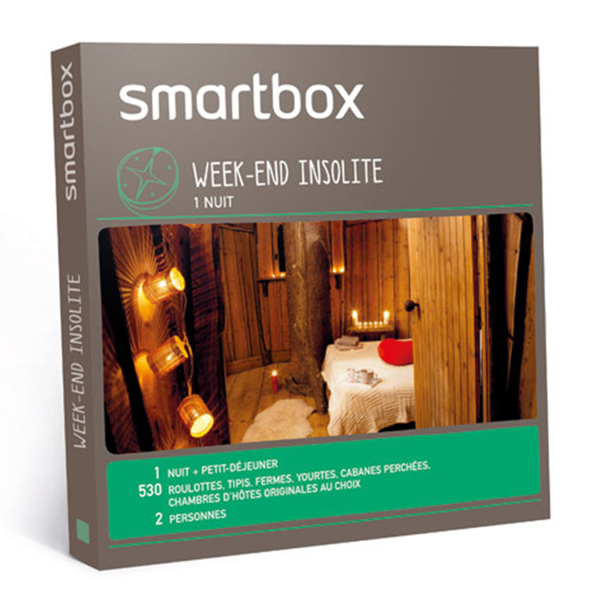 Coffret Smartbox - Week-end insolite