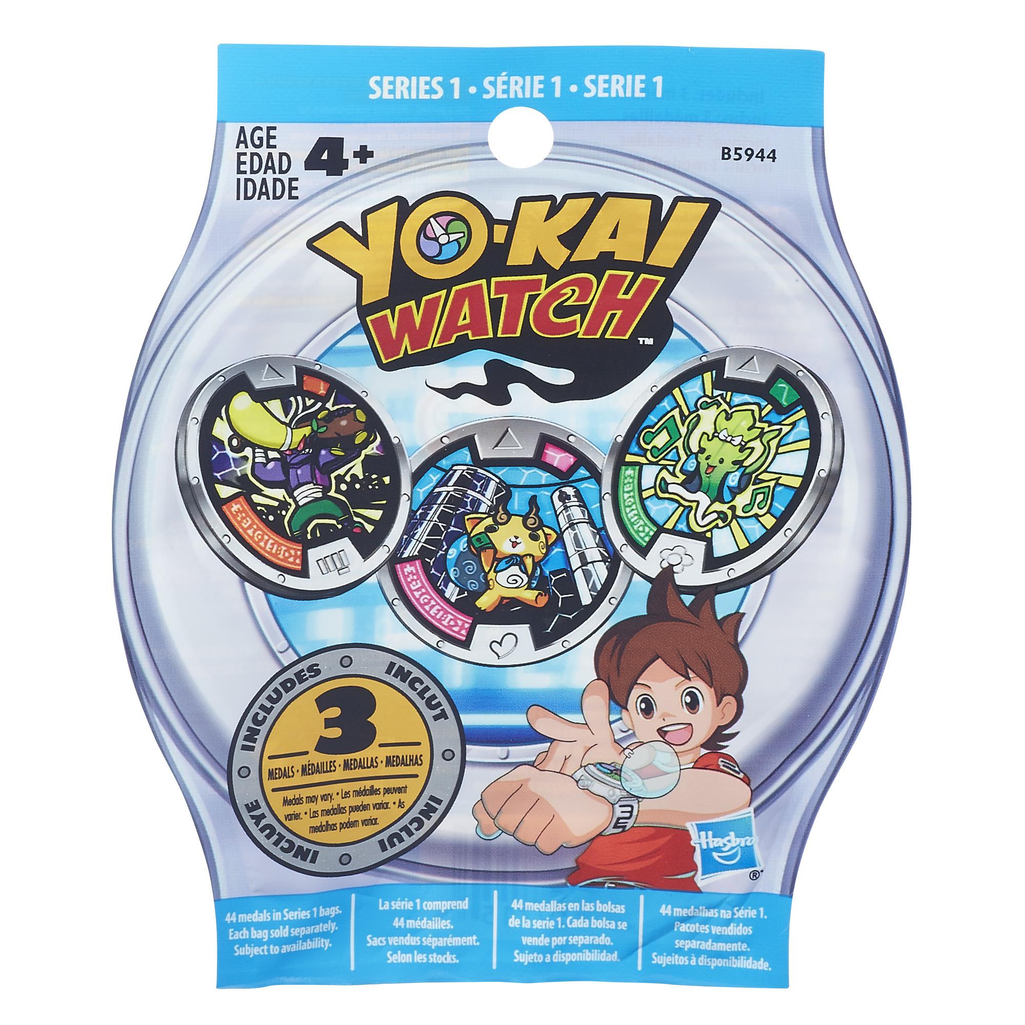 YO-KAI - Sachet Mystère de 3 Médailles