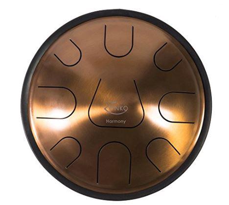 Zenko Harmony 9 notes - Steel tongue drum avec housse