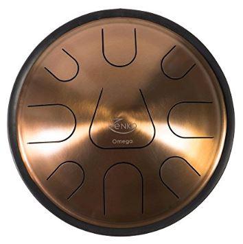 Zenko Omega 9 notes - Steel tongue drum avec housse