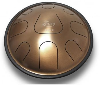 Zenko Penta C 9 notes - Steel tongue drum avec housse