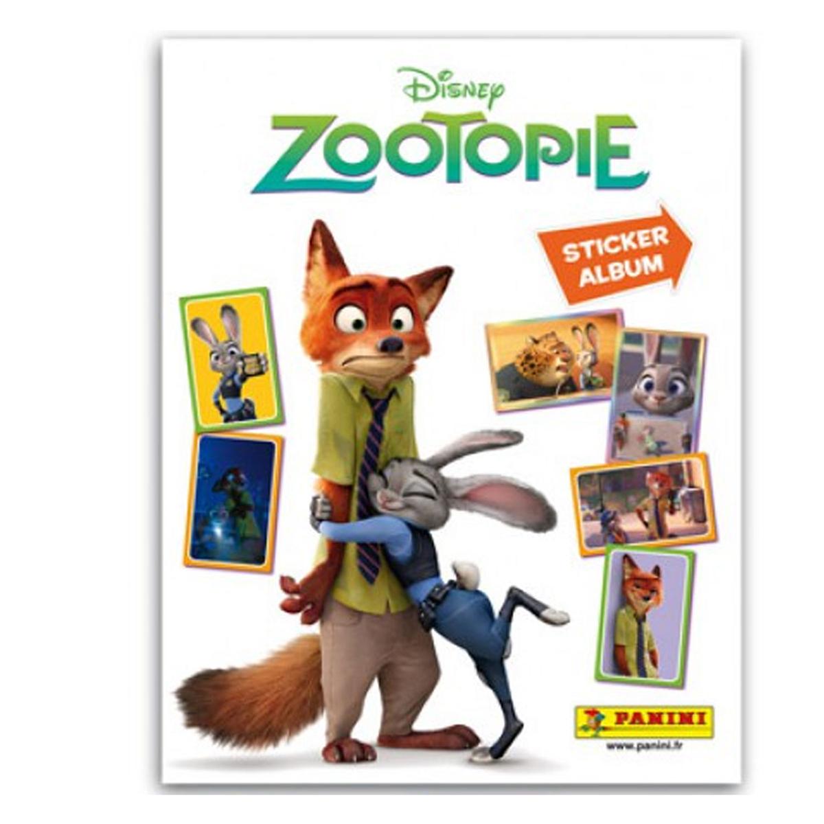 Album Panini - Disney Zootopie